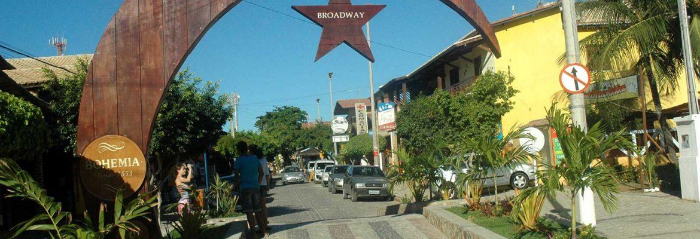 Broadway de Canoa Quebrada, Canoa Quebrada, State of Ceara, Brazil