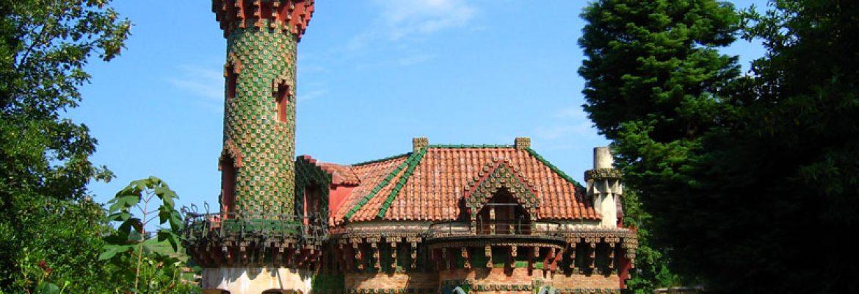 El Capricho de Gaudí,Comillas, Cantabria, Spain