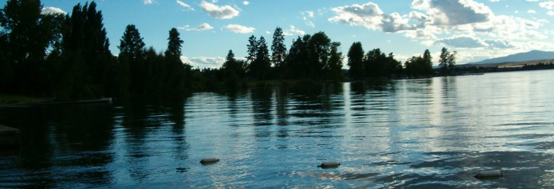 Flathead Lake, Polson,Montana, USA