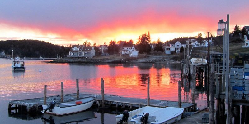 Boothbay Harbor, Maine, USA