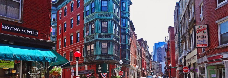 North End, Boston,Massachusetts, USA