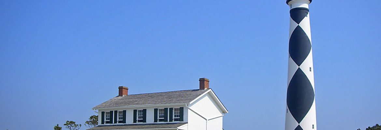 Cape Hatteras Lighthouse.Buxton,North Carolina, USA