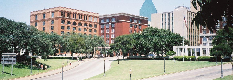 Dealey Plaza National Historic Landmark District, Dallas, Texas, USA
