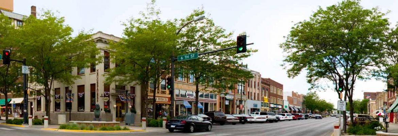 Downtown Rapid City, Rapid City,South Dakota, USA