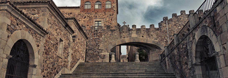 Arco de la Estrella,Cáceres, Spain