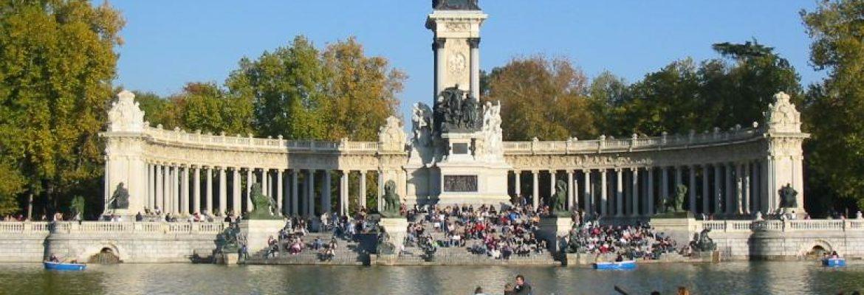 El Retiro Park,Madrid, Spain