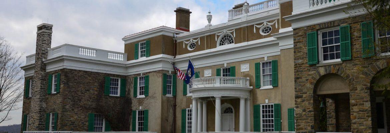 Franklin Delano Roosevelt Home, Hyde Park, New York, USA