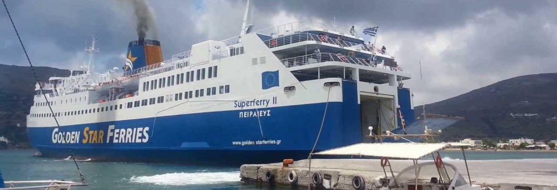 FerryGavrio, Greece