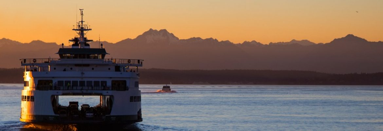 Bremerton – Seattle Ferry,Washington, USA