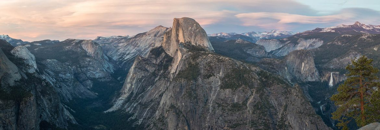 Glacier Point, Yosemite National Park,California, USA