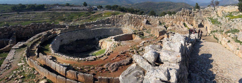 Mycenae,Mykines, Greece