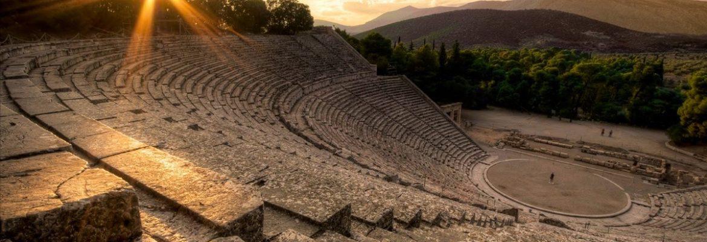 Sanctuary of Asklepios, Unesco Site,Epidavros, Greece