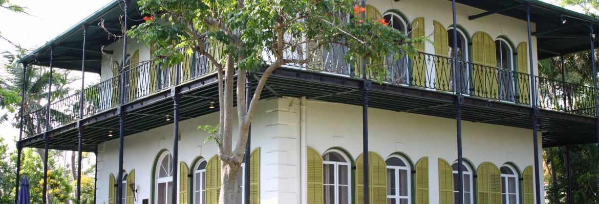 The Ernest Hemingway Home and Museum,Key West,Florida, USA