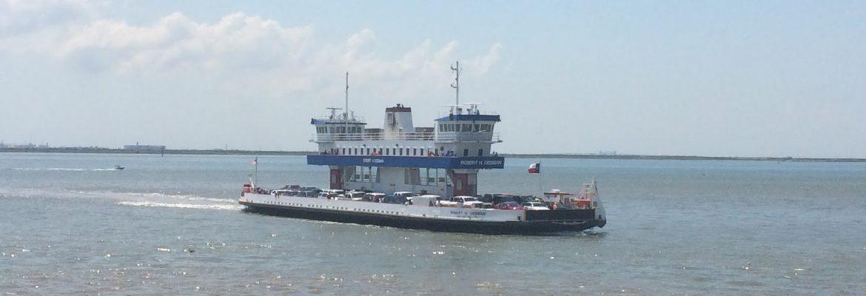Galveston – Port Bolivar Ferry, Galveston,Texas, USA