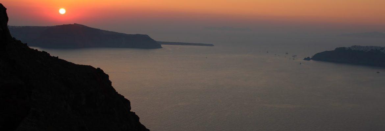 Skaros Rock,Thera, Greece