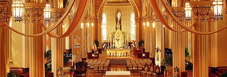 Basilica of the Sacred Heart, South Bend,Indiana, USA