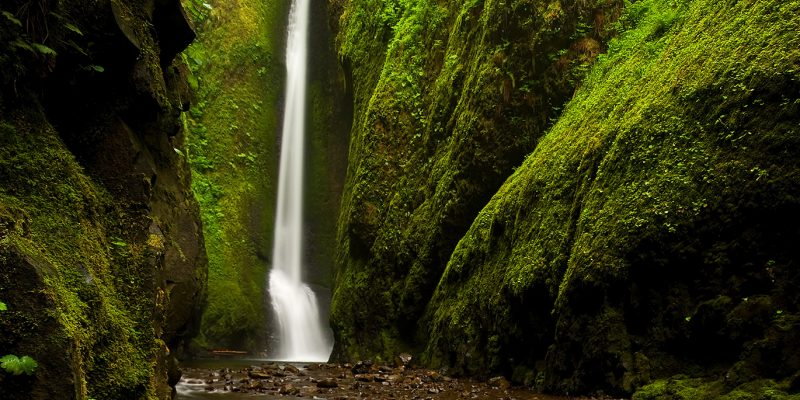 Lower Oneonta Falls and Trail, Cascade Locks, Oregon, USA