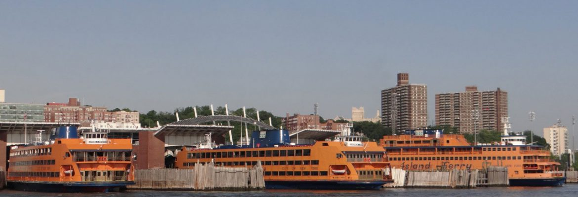 St. George Terminal, Staten Island Ferry, New York City, New York