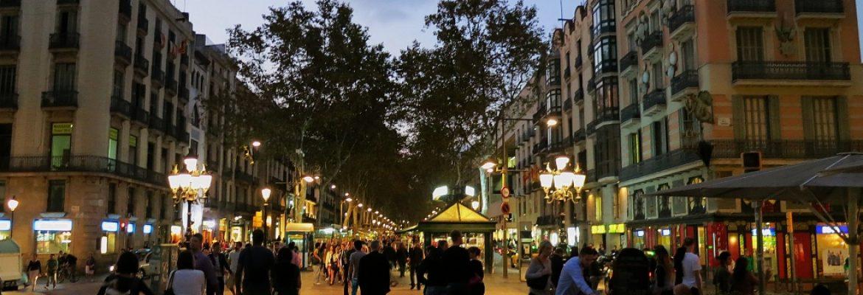 La Rambla,Barcelona, Spain