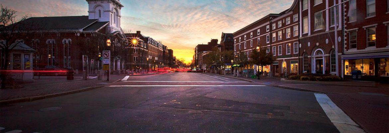Market Square,Portsmouth, New Hampshire, USA
