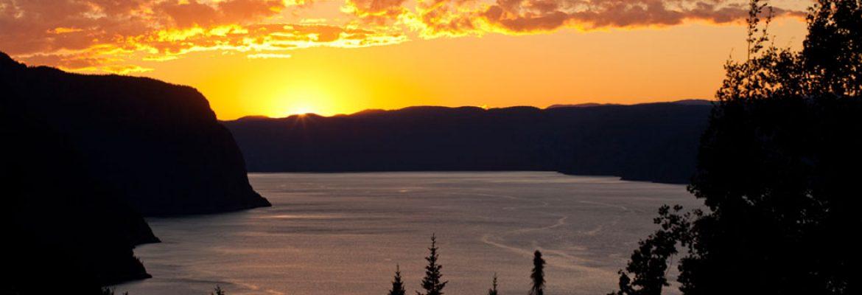 Parc National du Fjord-du-Saguenay, QC, Canada