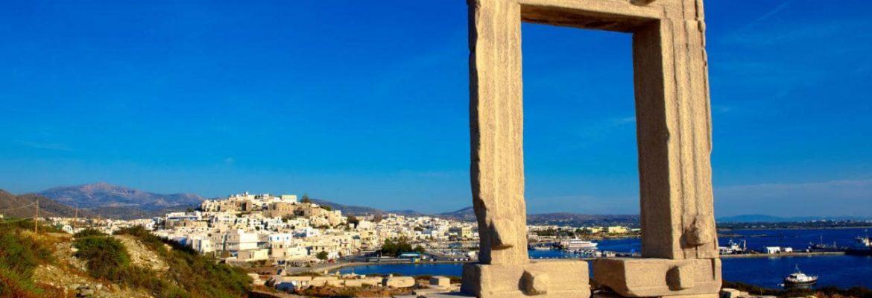 Portara – Apollo Temple,Naxos, Greece