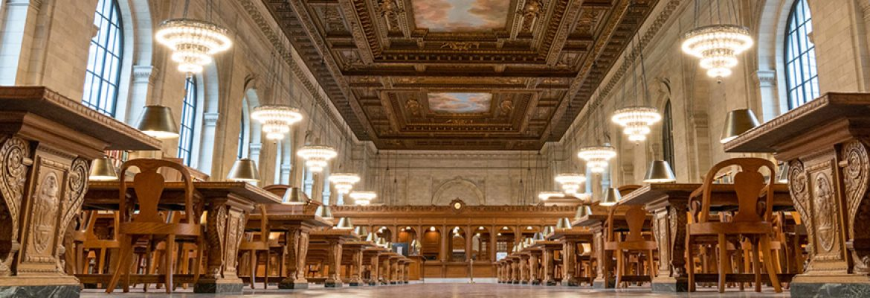 New York Public Library, New York City, New York, USA