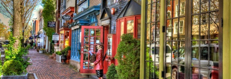 Old Town, Alexandria, Virginia, USA