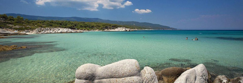 Orange Beach,Sarti, Greece