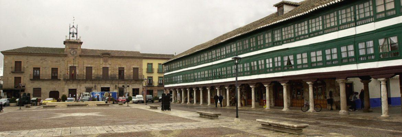 Plaza Mayor,Almagro, Cdad. Real, Spain