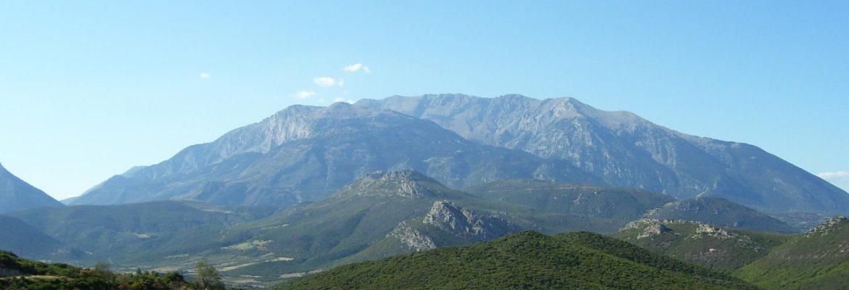 Mount Parnassus,Tithorea, Greece