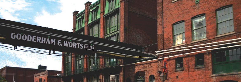The Distillery District,Toronto, Canada