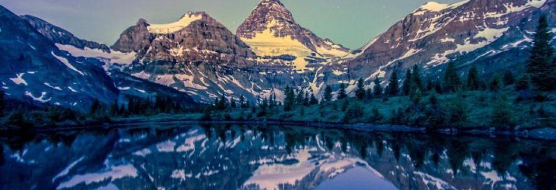Mount Assiniboine Provincial Park, Unesco, BC, Canada