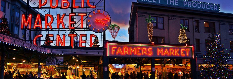 Pike Place Market,Seattle,Washington, USA