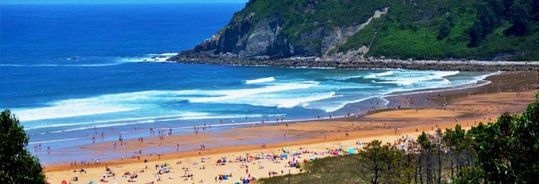 Playa Rodiles,Asturias, Spain