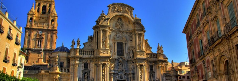 Plaza del Cardenal Belluga,Murcia, Spain