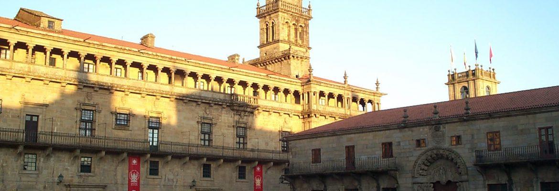 Praza do Obradoiro, Unesco Site, A Coruña, Spain