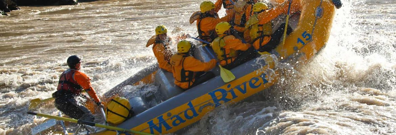 Rafting, Big Shoals Conservation Area, Florida, USA