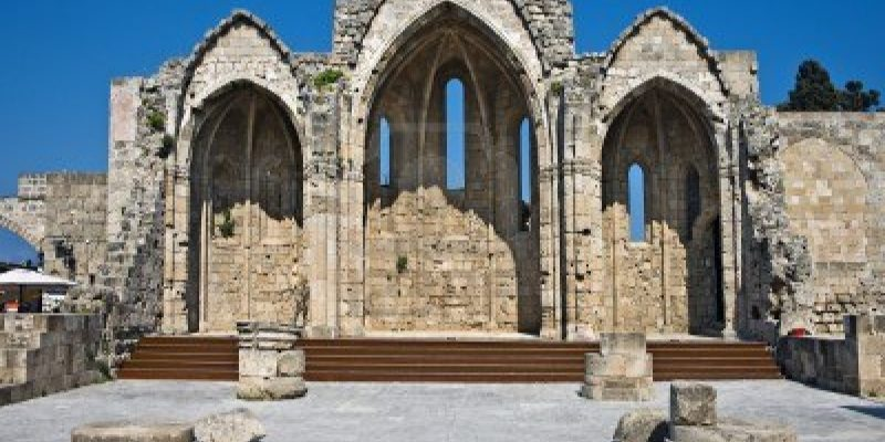 Archaeological Site Bassae, Unesco Site,Oichalia, Greece