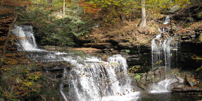 Ricketts Glen State Park, Benton,Pennsylvania, USA
