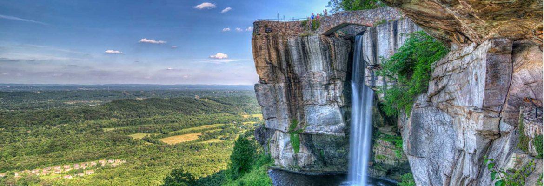 Rock City Gardens,Lookout Mountain,Georgia, USA