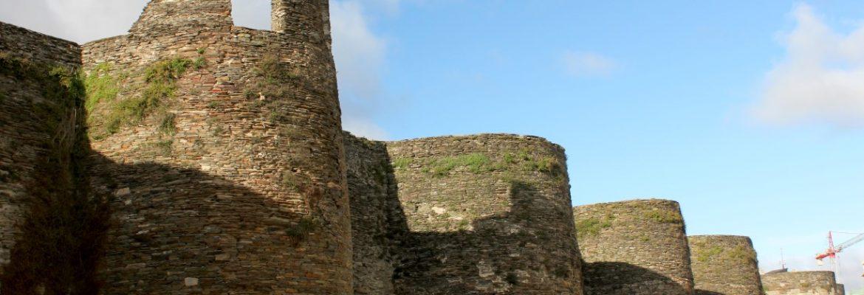 Roman Walls of Lugo, Unesco, Lugo, Spain