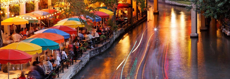 San Antonio River, San Antonio,Texas, USA