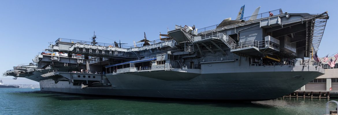 USS Midway Museum, San Diego, California, USA