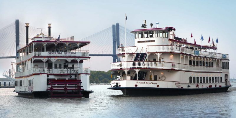 Savannah Riverboat Cruises, Savannah, Georgia, USA