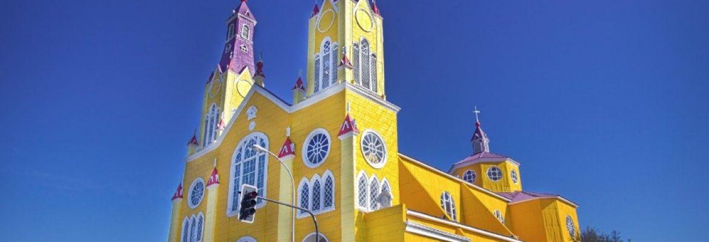 Churches of Chiloe Castro, Chile