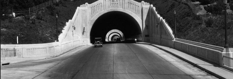Arroyo Seco Parkway Los Angeles, California, USA