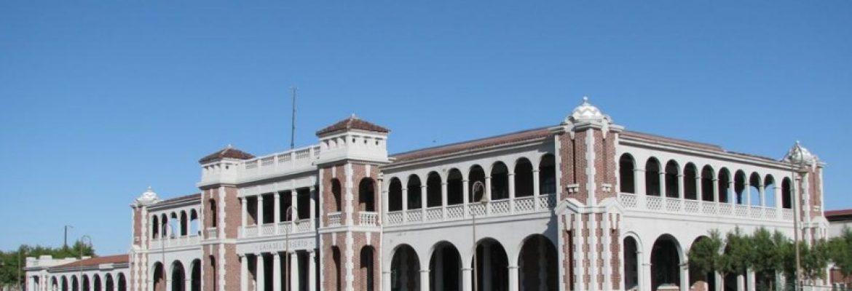 Harvey House Railroad Depot, Barstow, California, USA