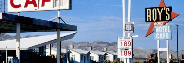 Roy's Motel and Cafe, Amboy, California, USA