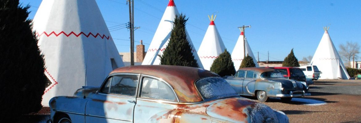 Wigwam Village Motel #6, Holbrook, Arizona, USA